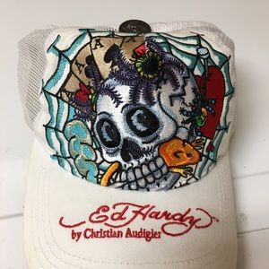 Ed hardy vintage 90s 2000s style hat